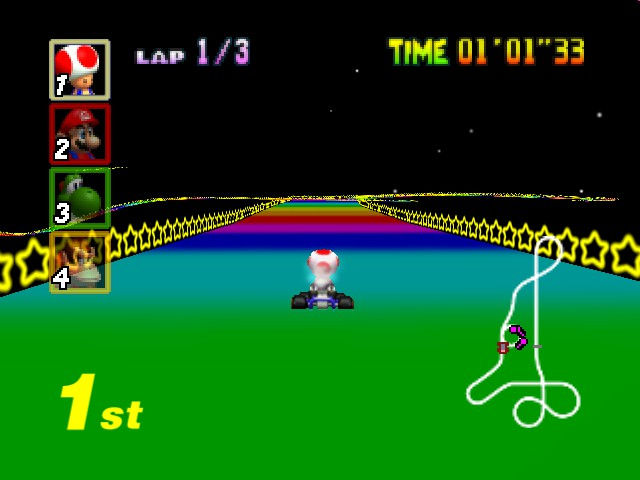 Mario Kart 64 - Ugh. What drugs have I been taking? - User Screenshot